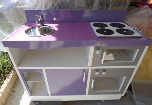 Mini cuisine violette 1