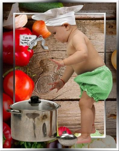 Mini cuisinier vert 17 04 13